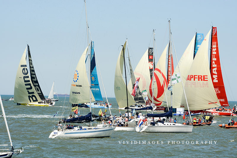 volvo ocean race event photography